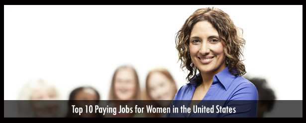 top paying jobs women