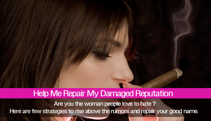 how to repair a bad reputation