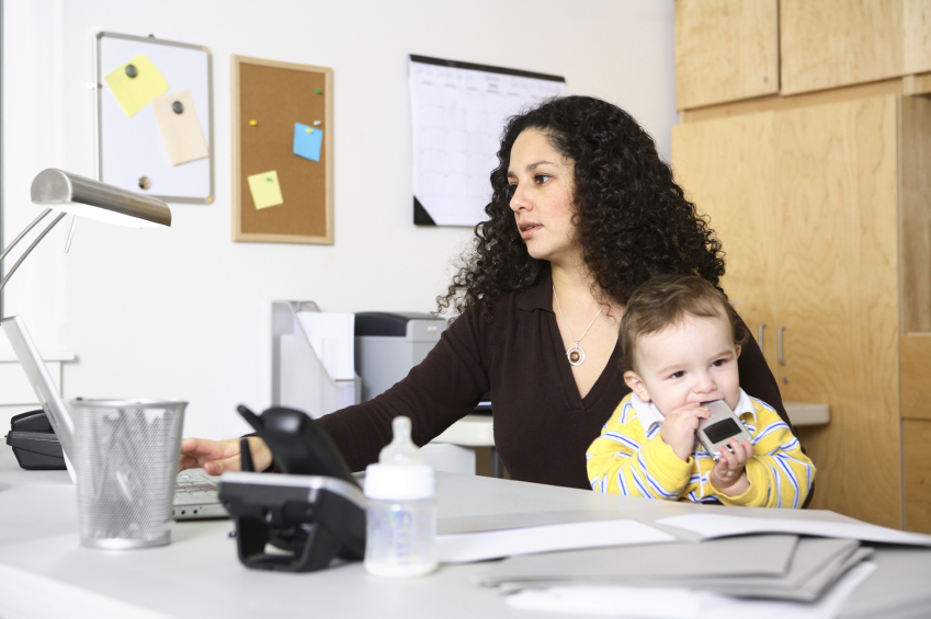 3 Tips for Mom's Working from Home