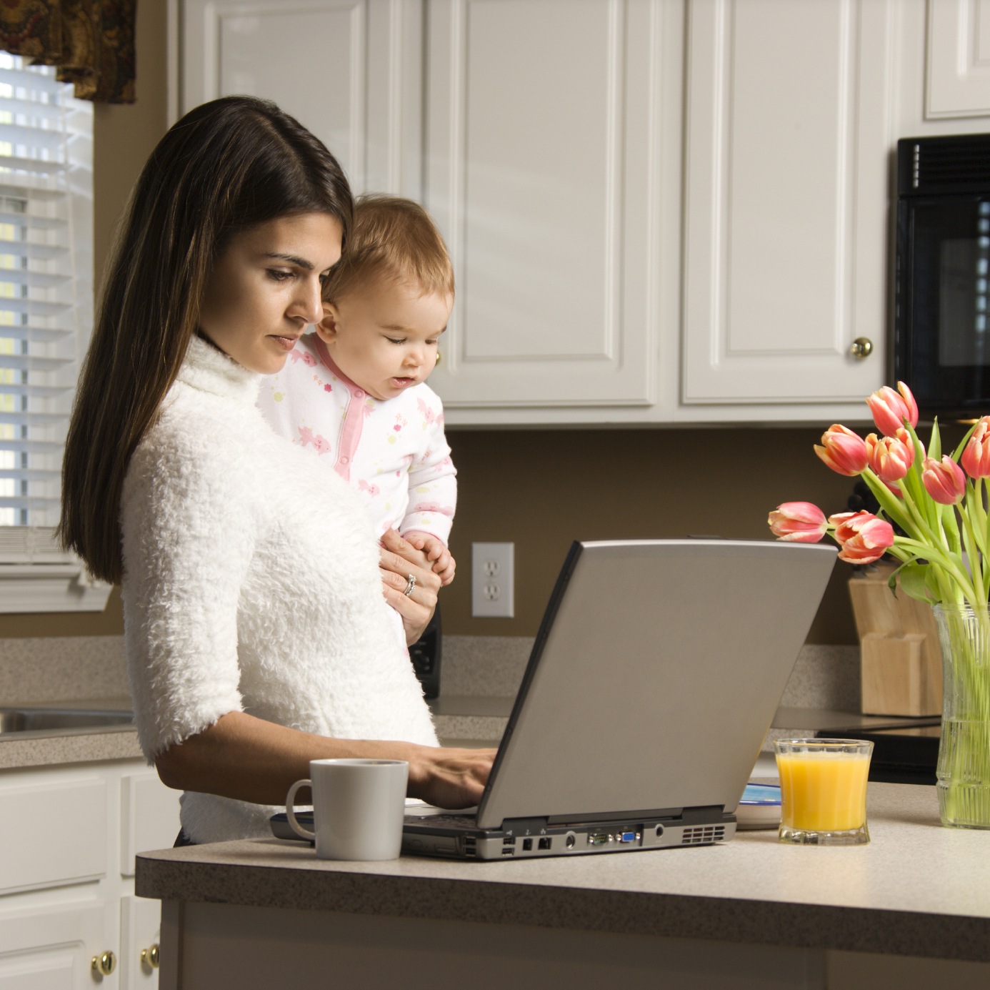 Work from home moms images