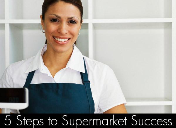 get a supermarket job